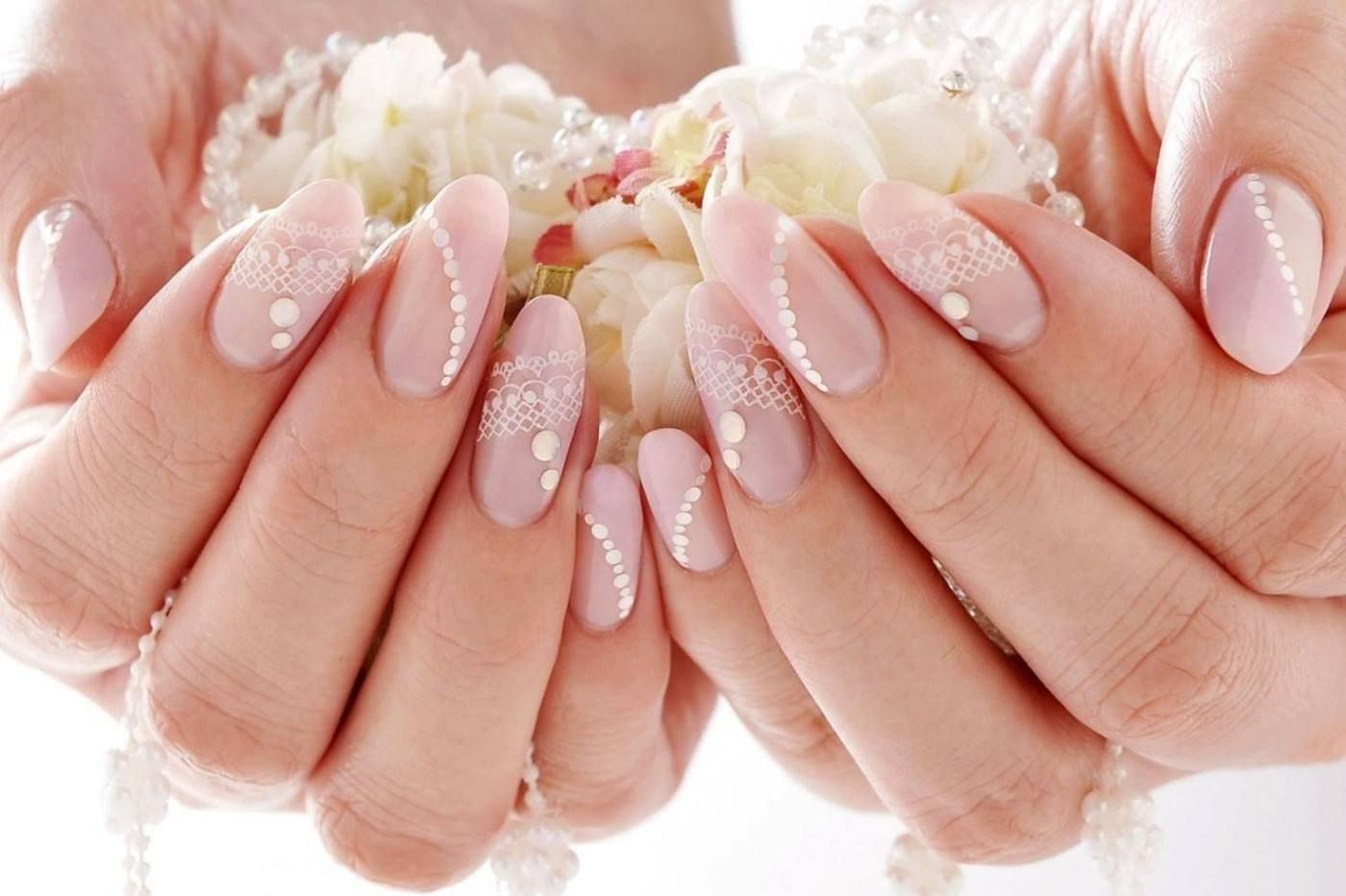 картинки дизайна свадебных ногтей фото город