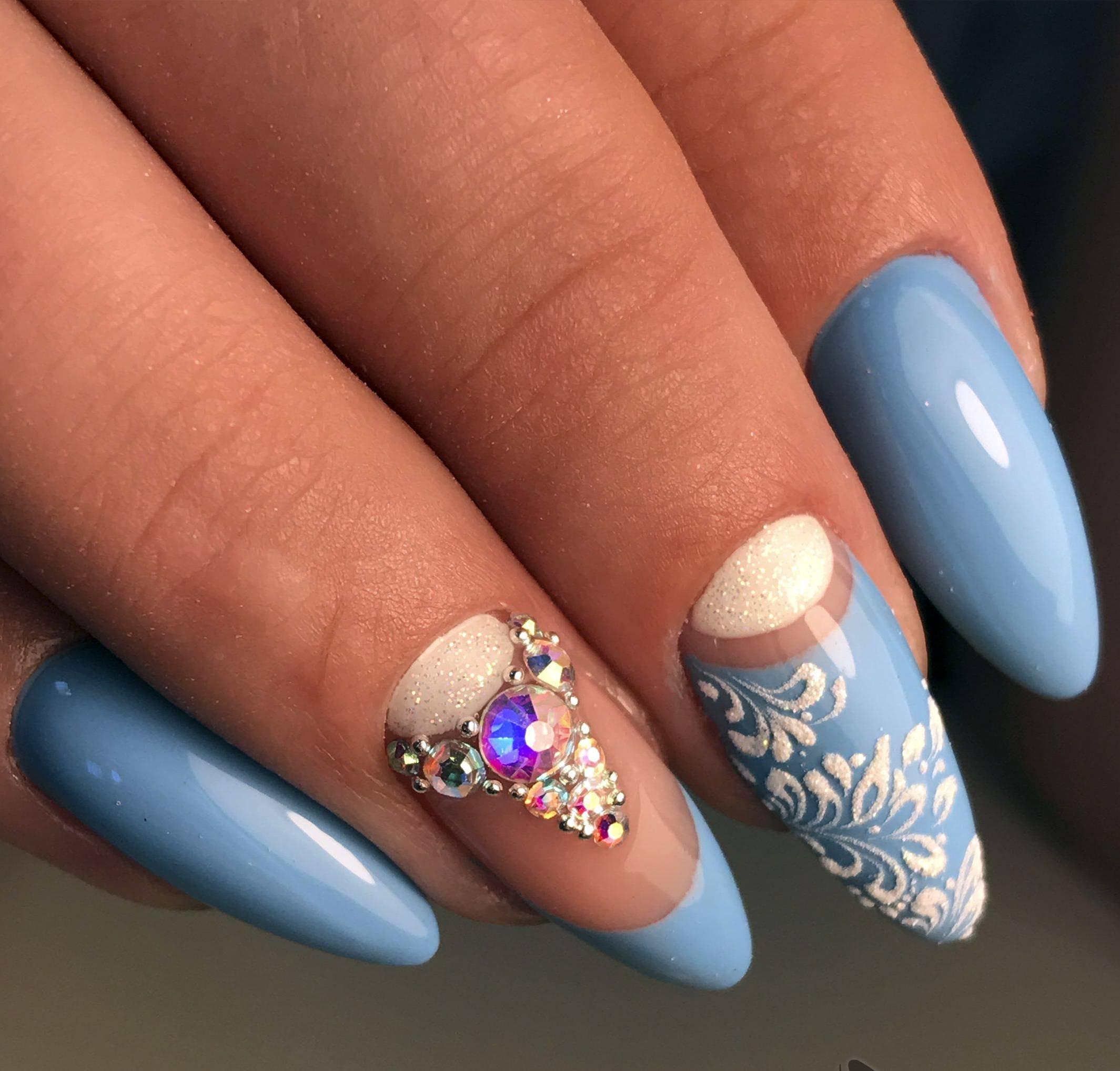 обустроить шикарный дизайн ногтей на праздник фото мероприятия