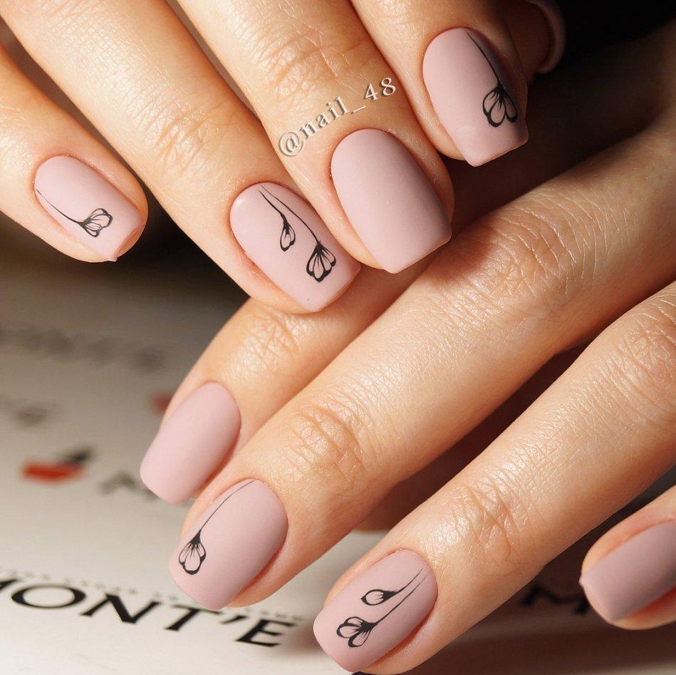 Картинки для маникюра коротких ногтей