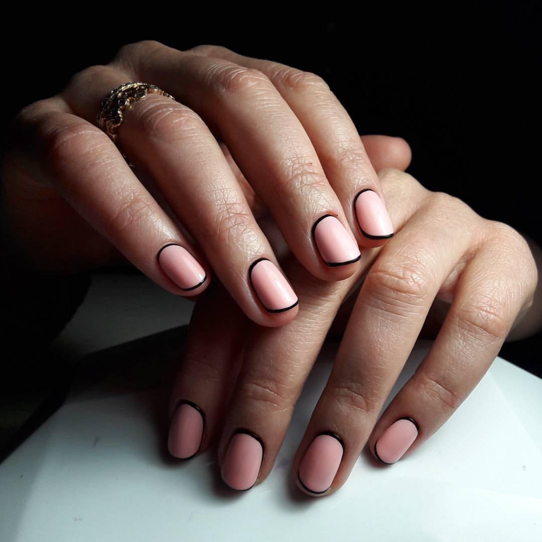 Нежный рисунок на ногтях фото можно открыть