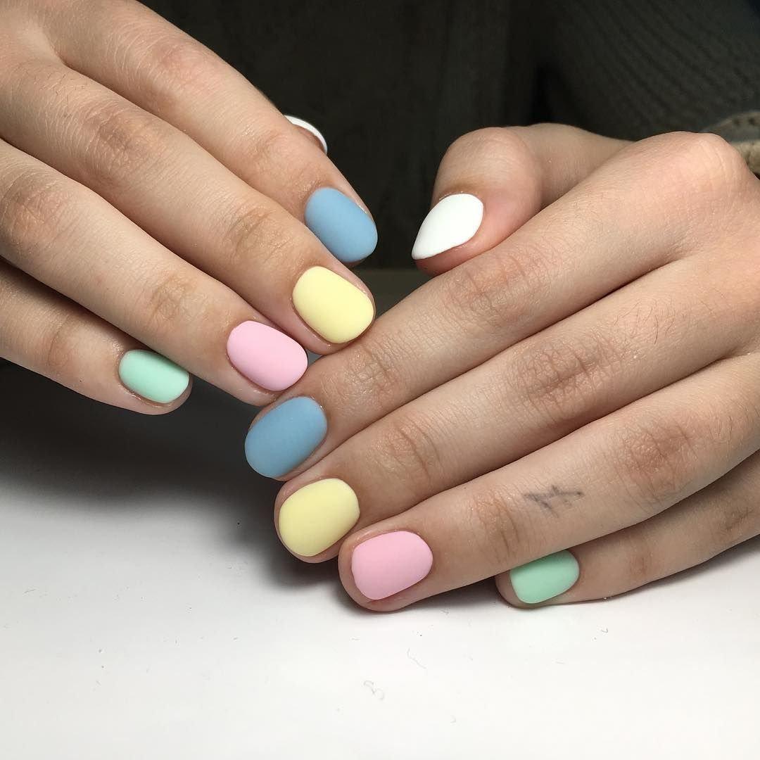 мы, ногти разных цветов сочетание фото располагает компроматом адвоката