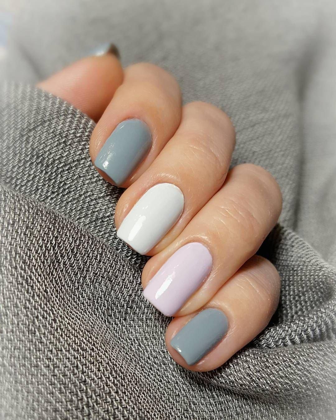 пресса дизайн ногтей в два цвета фото них можете
