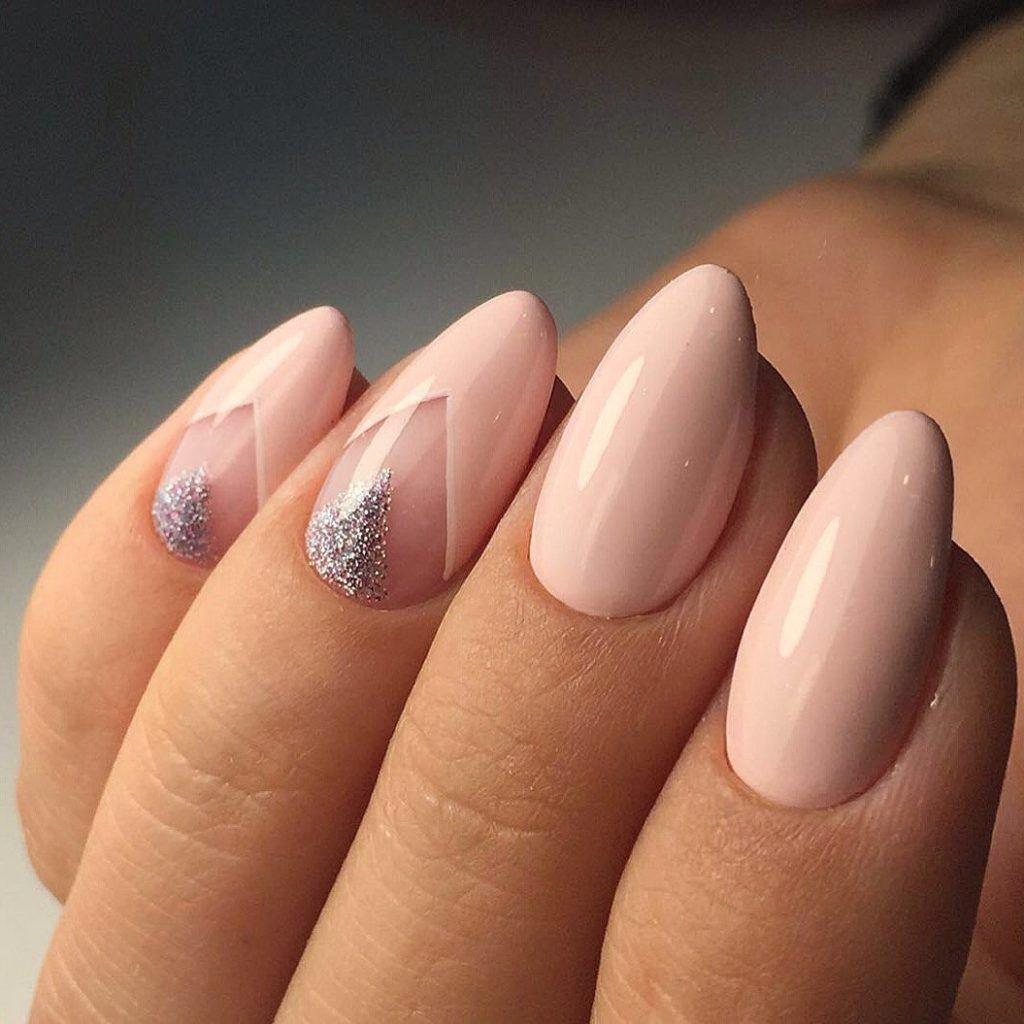 Дизайн ногтей миндалевидной формы фото