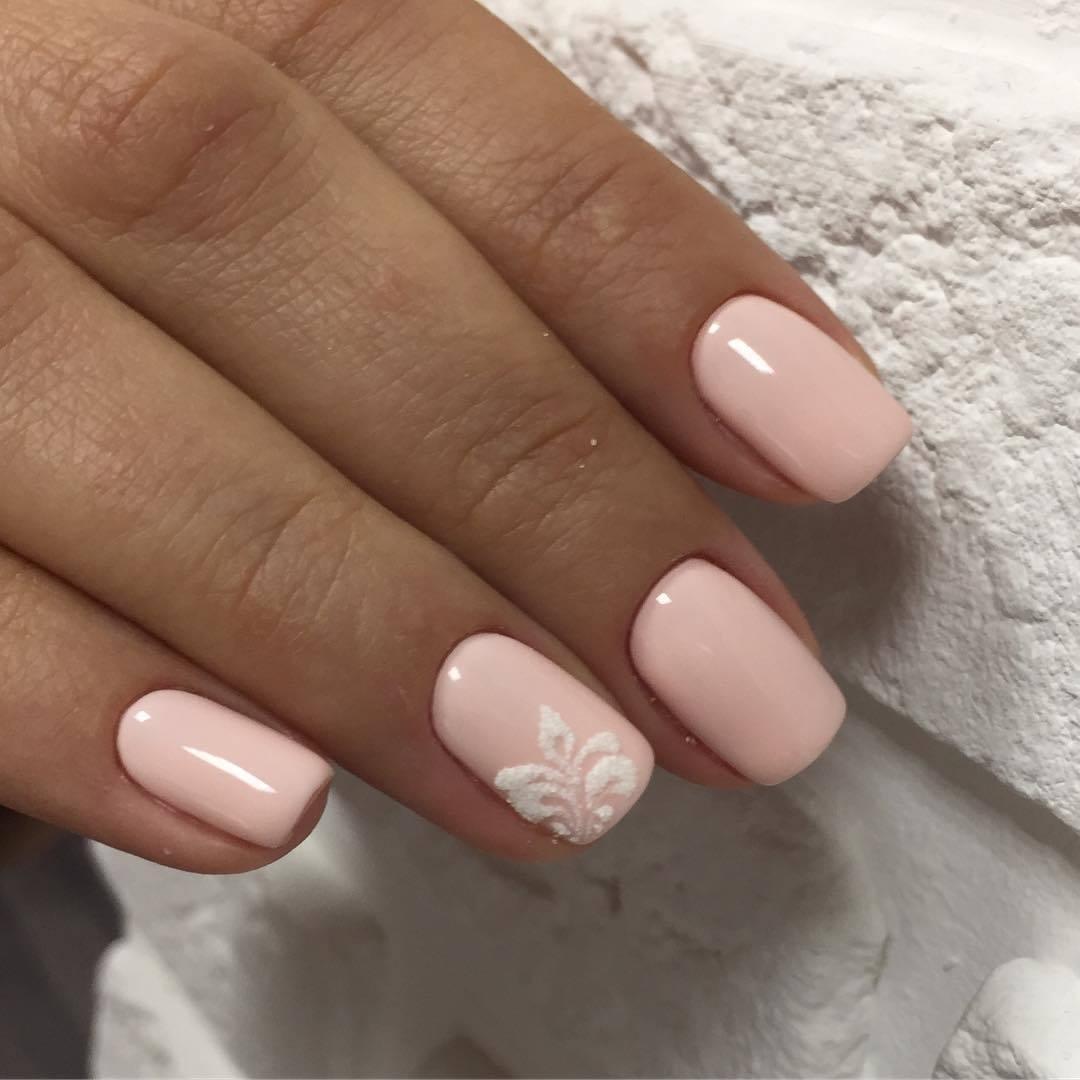 Пудровые ногти фото