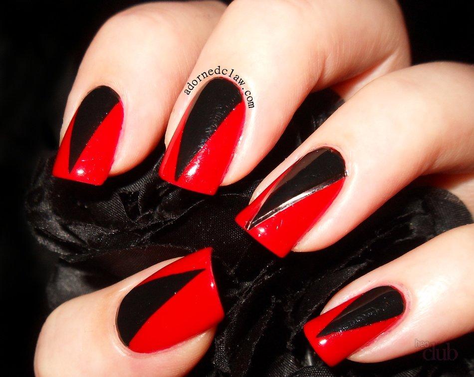 Фото в красно черном стиле