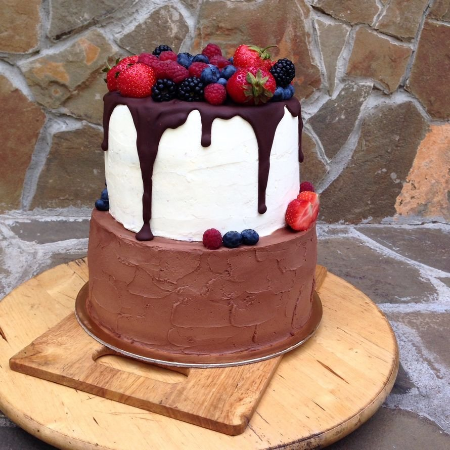 двухъярусный торт без мастики рецепт с фото делать, если обнаружили
