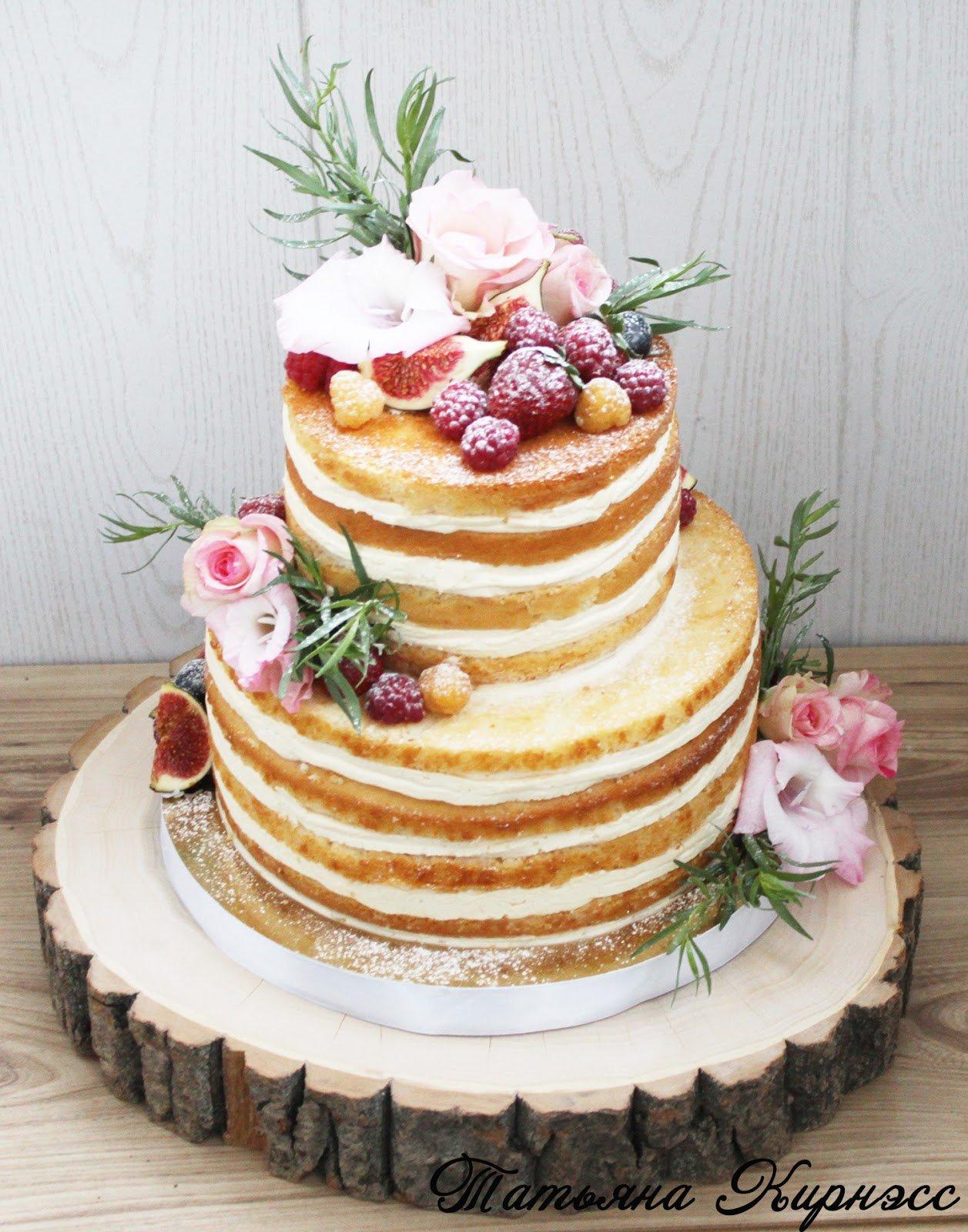 двухъярусный торт без мастики рецепт с фото понесло