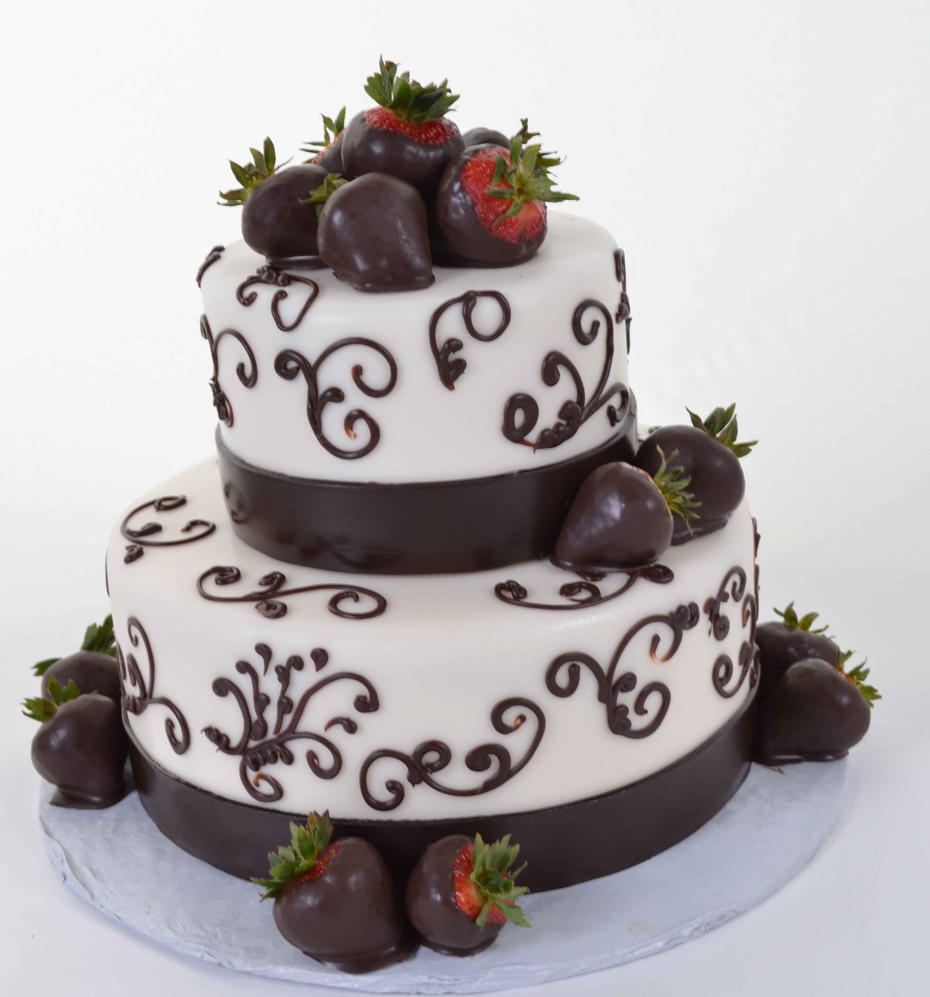 Картинка двухъярусный торт