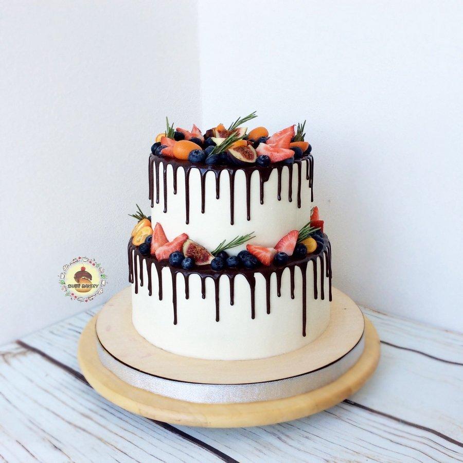 двухъярусный торт без мастики рецепт с фото русалок