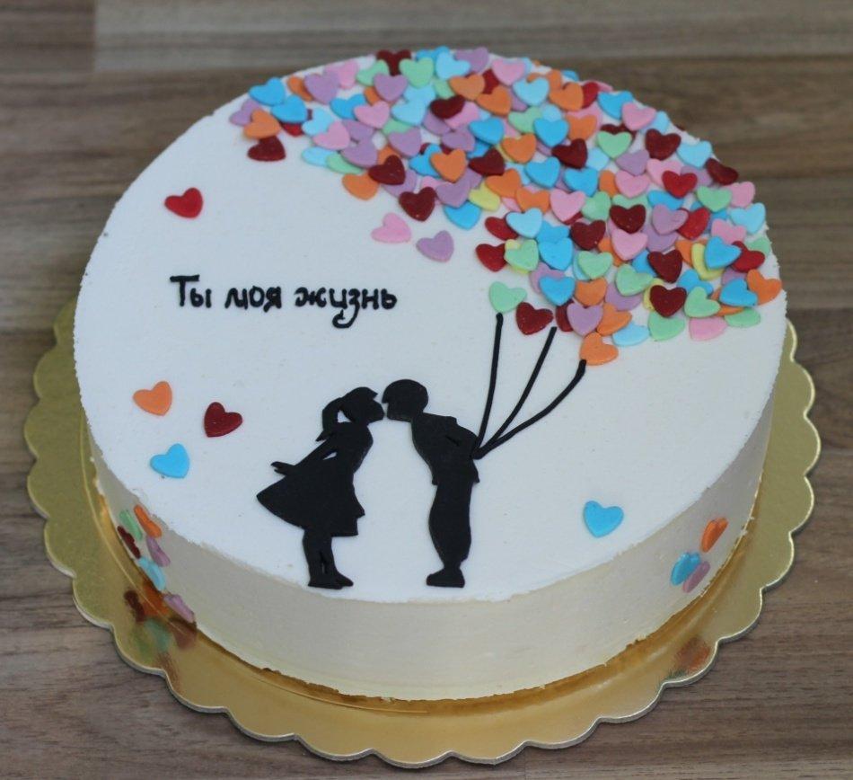 Торт год вместе фото