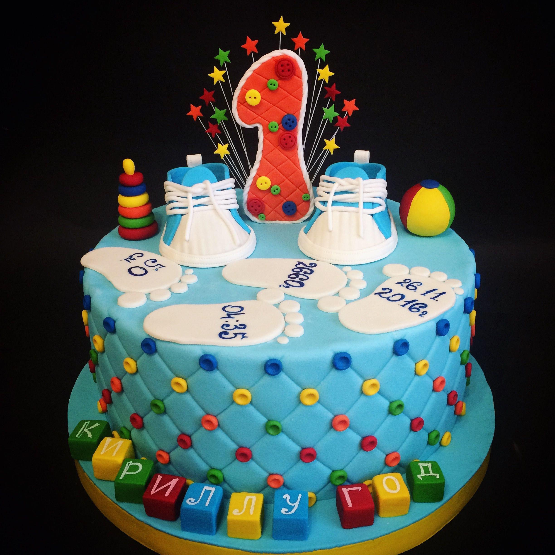 многие картинки торты на годик это новые