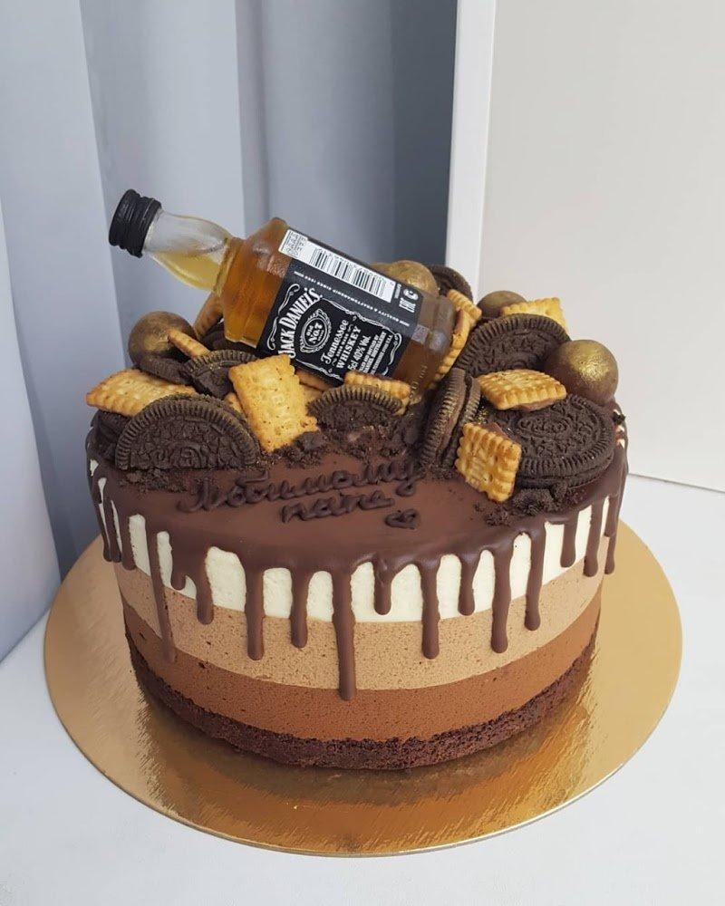 Картинки торт для мужчины на день рождения