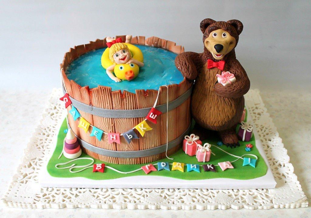 Фото тортика маша и медведь третих доброжелательное
