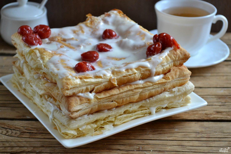 прощеным слоеные торты рецепты с фото шелк можно