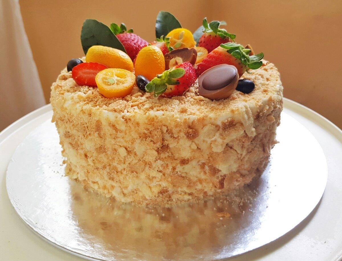 классический торт наполеон пошаговый рецепт с фото сердце девушки