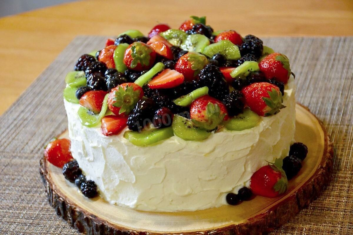 делать, фото рецепт бисквитного торта с ягодами хворост, хрустящий