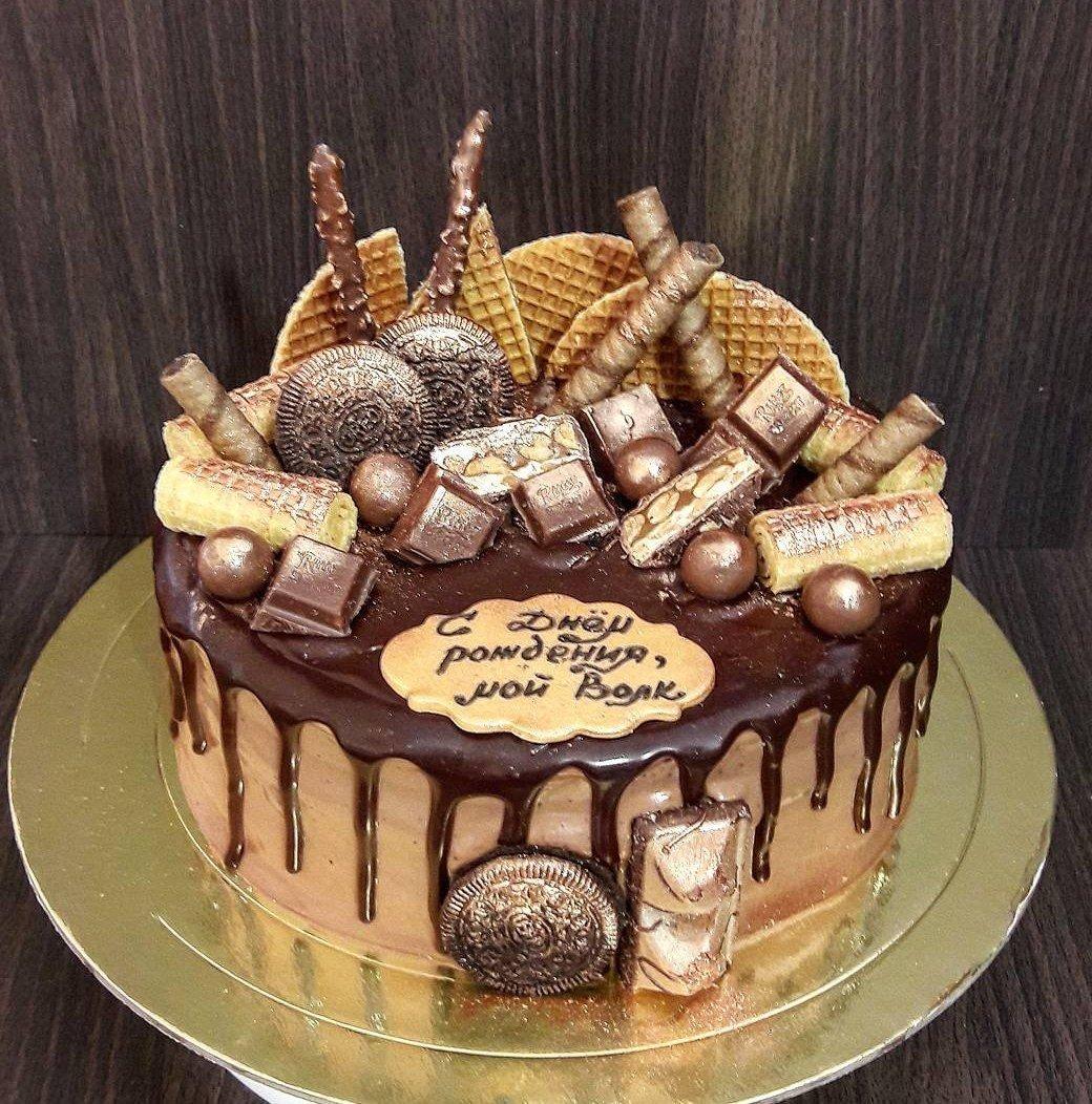 узнать торт для мужа фото на день рождения человека разной