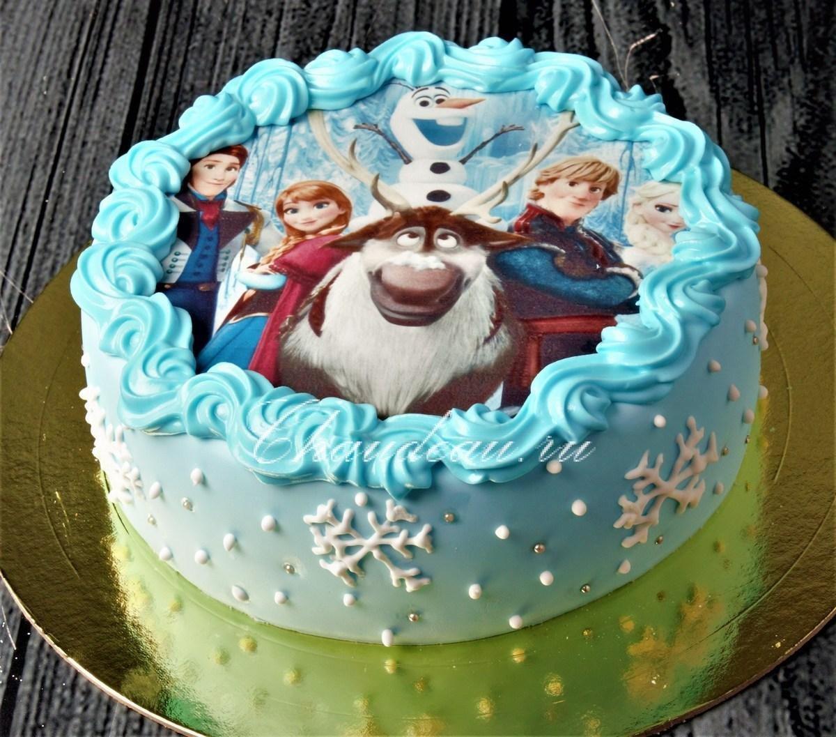 Холодное сердце картинки из мультфильма для торта
