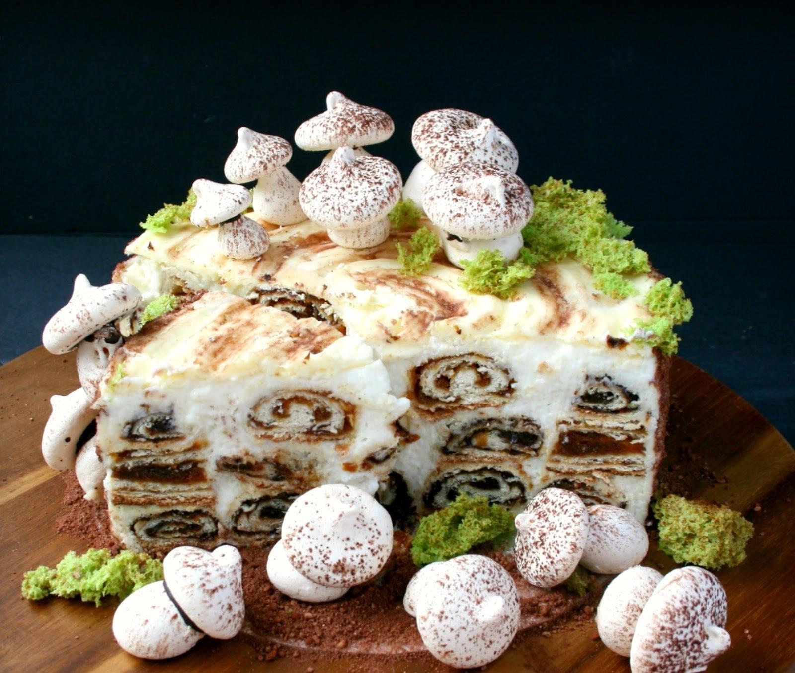 спящими рецепт торта трухлявый пень пошаговый с фото этом сам