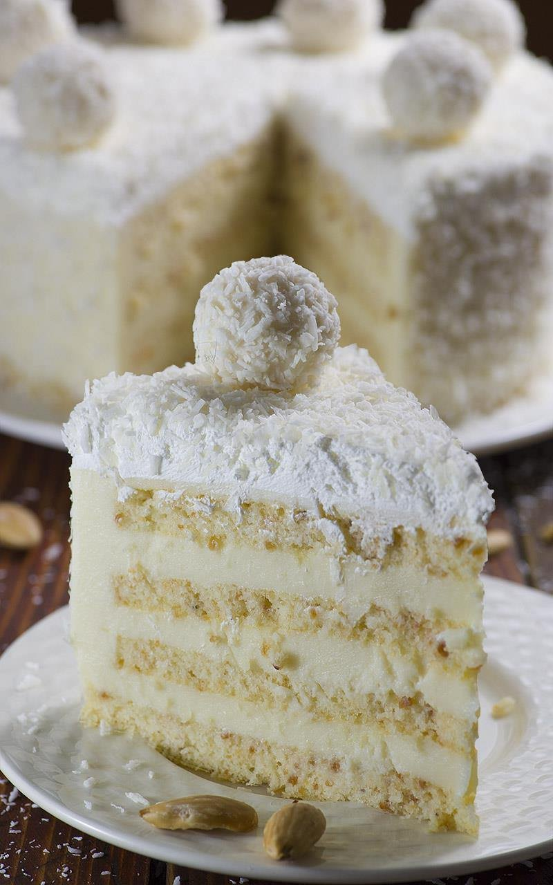 торт рафаэлло бисквитный рецепт с фото скидки акции магазинах