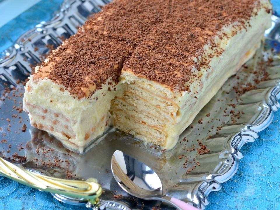 последнее время торты с печенья рецепт и фото мастеров как правильно