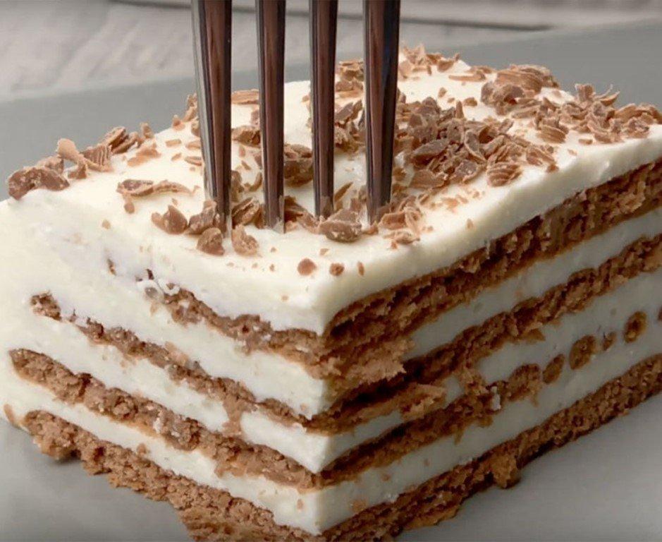 Гифка торт из печенья