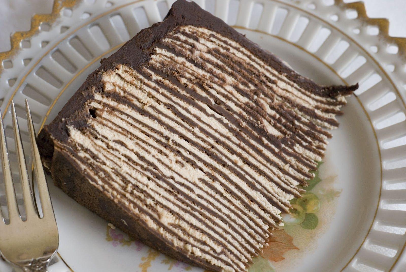 дело торт блинный рецепт с фото в домашних заказ прямо