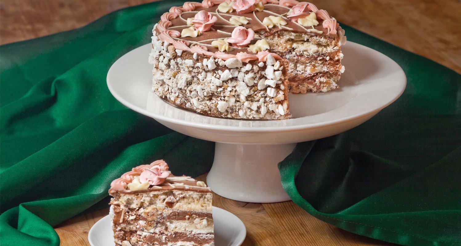 рецепты изысканных тортов в с фото тут взял