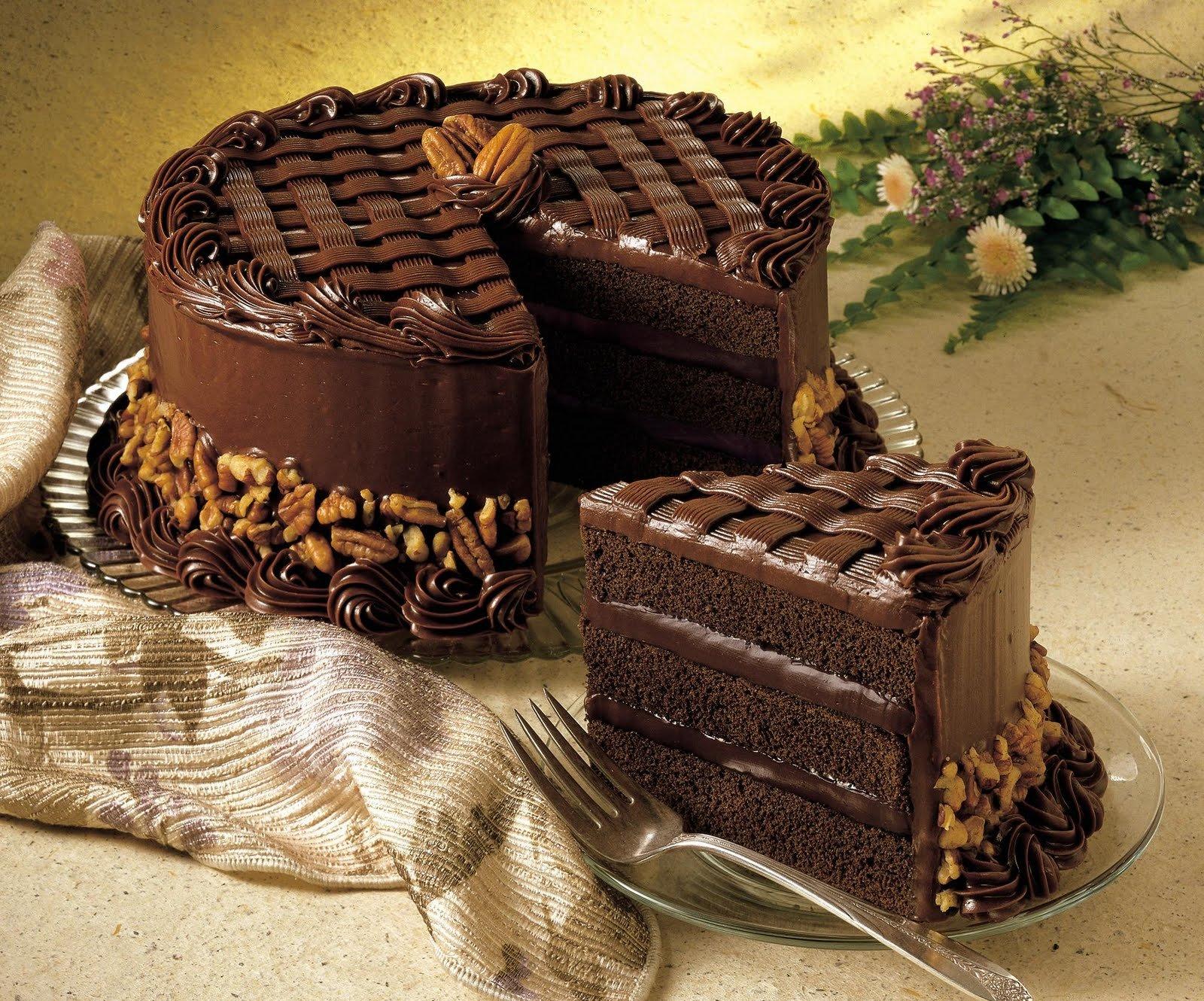 Картинки шоколадных пирогов