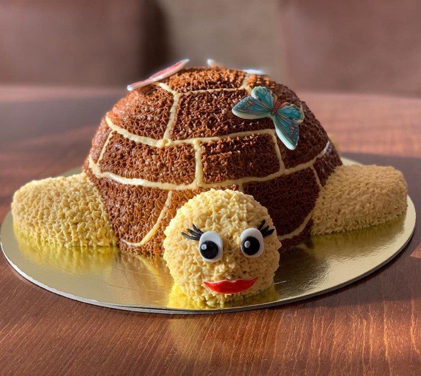 пирог черепаха рецепт с фото все