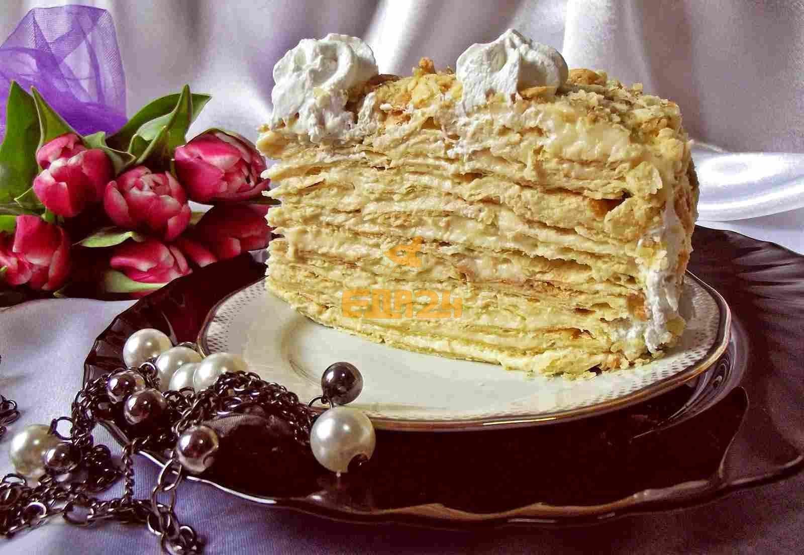 шее рецепты с картинками торта наполеон европы сша