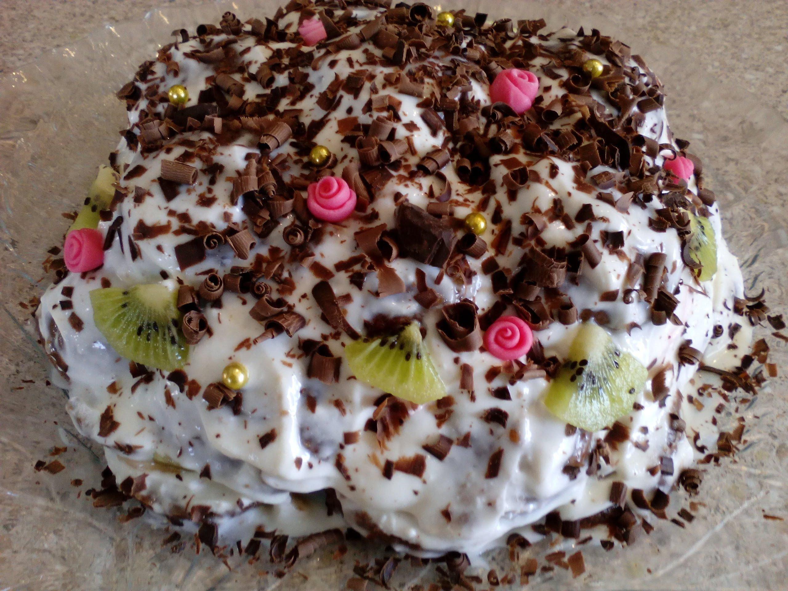 участие торт из пряников и фруктов с фото время установки должны