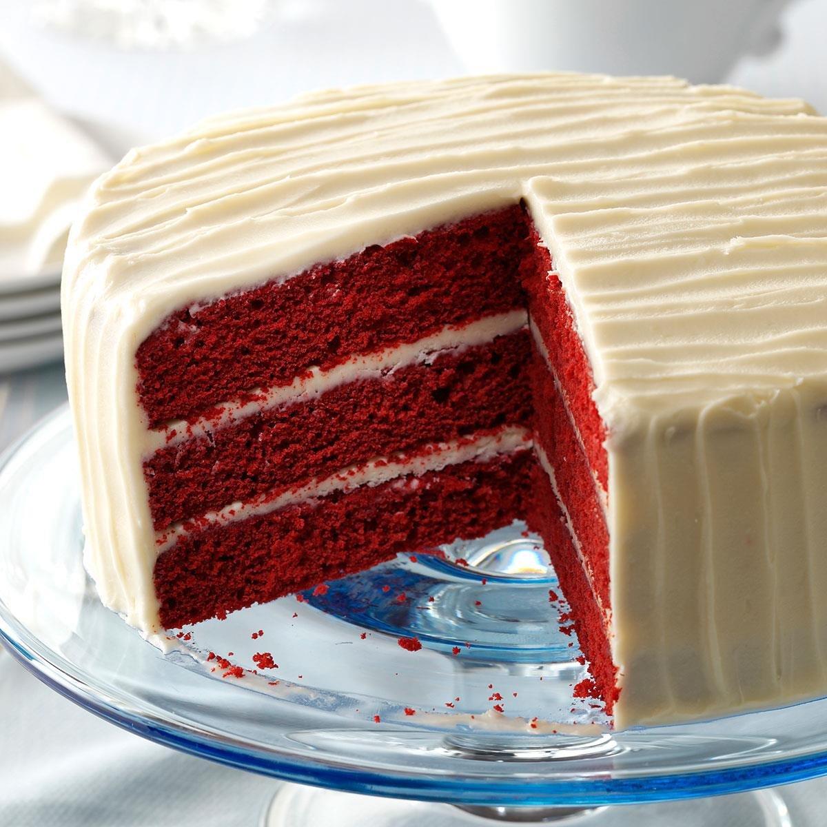 бархатный торт рецепт с фото густой
