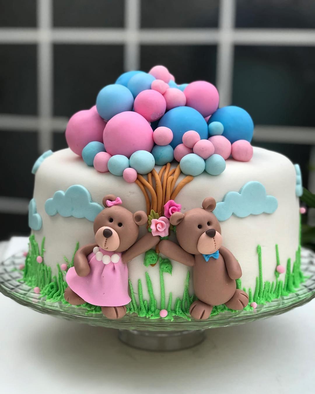 Картинка торта с днем рождения детские для