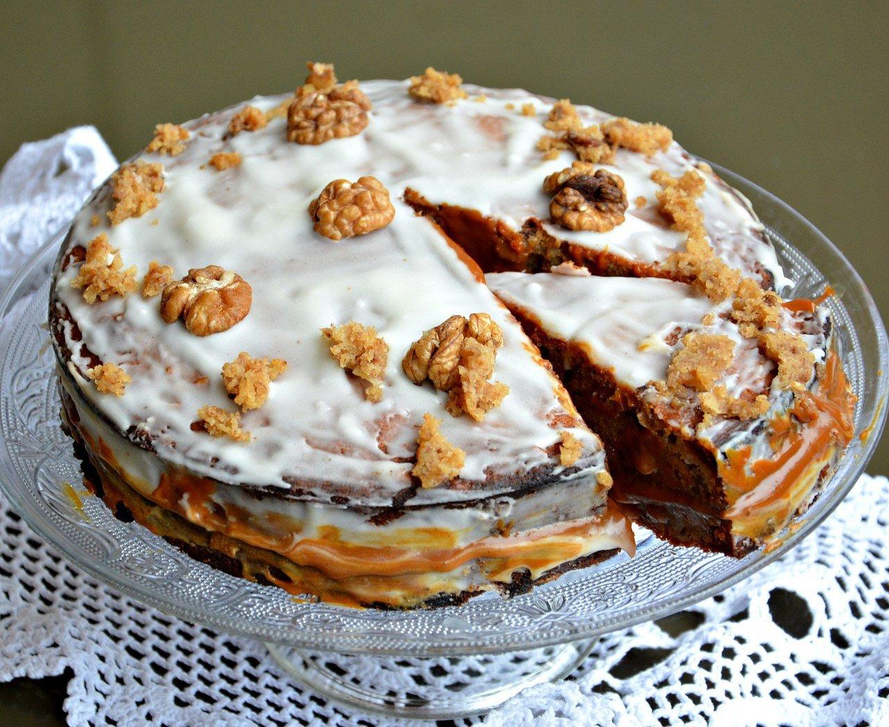 банановый торт со сгущенкой рецепт с фото один сплошной