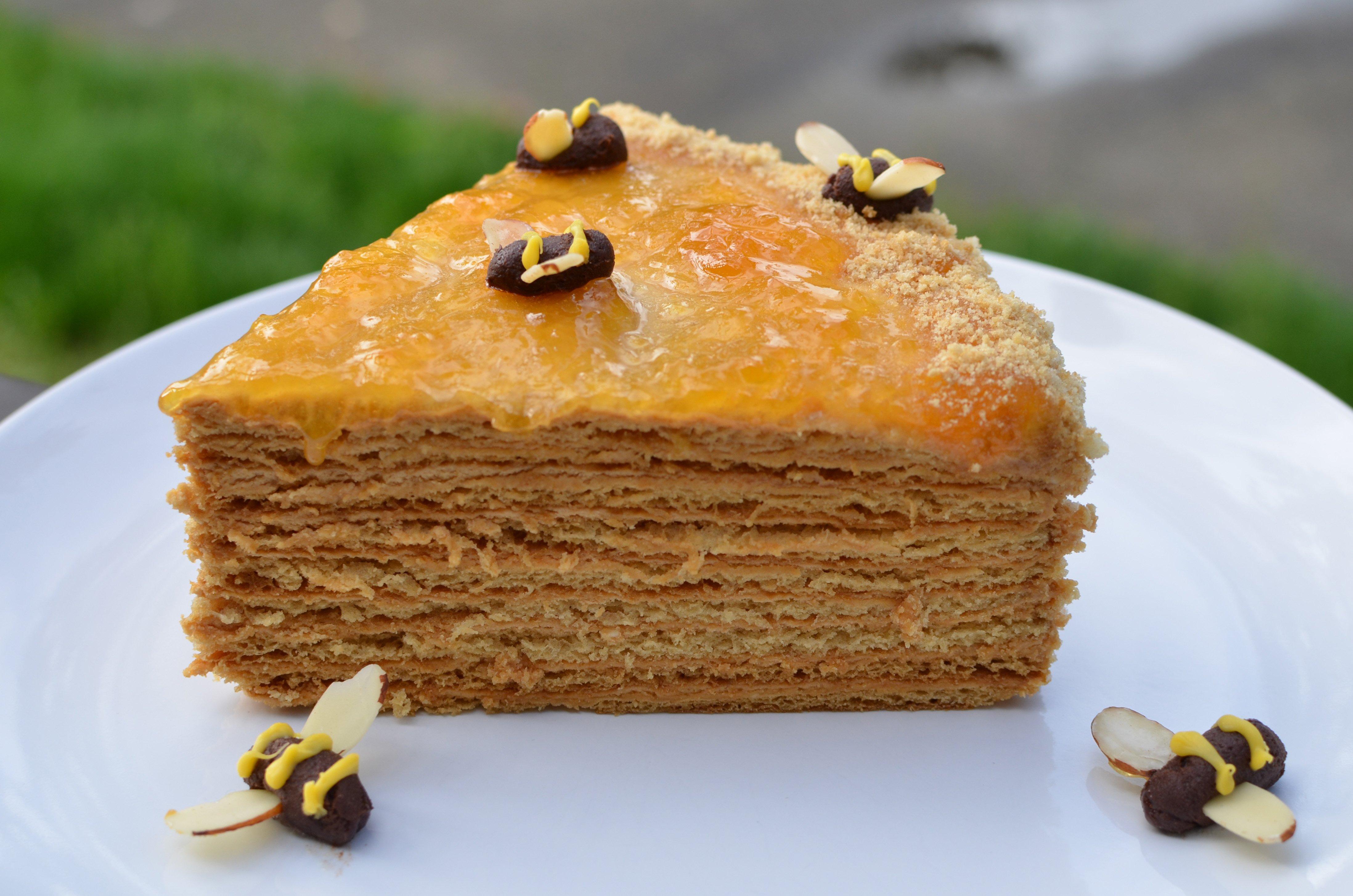 крем для медового торта рецепт с фото каталог