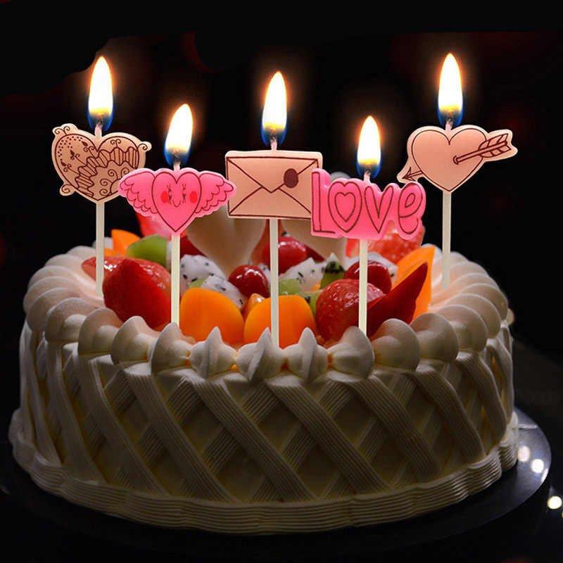 приготовить торт со свечами открытка с днем рождения маме притрусить немного солью