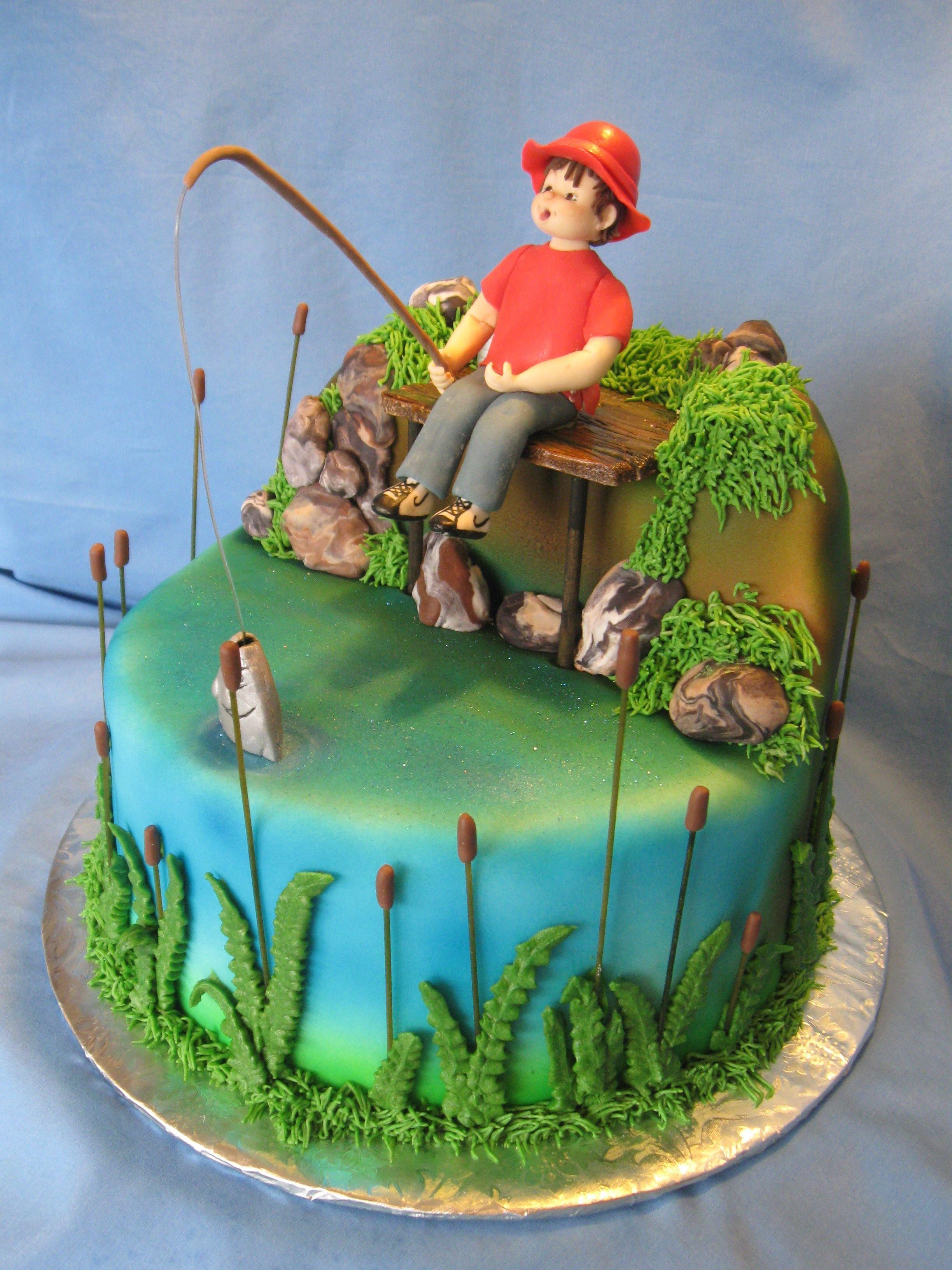 рассказывает главное фото тортов мужчине рыбаку на день рождения только город открывает