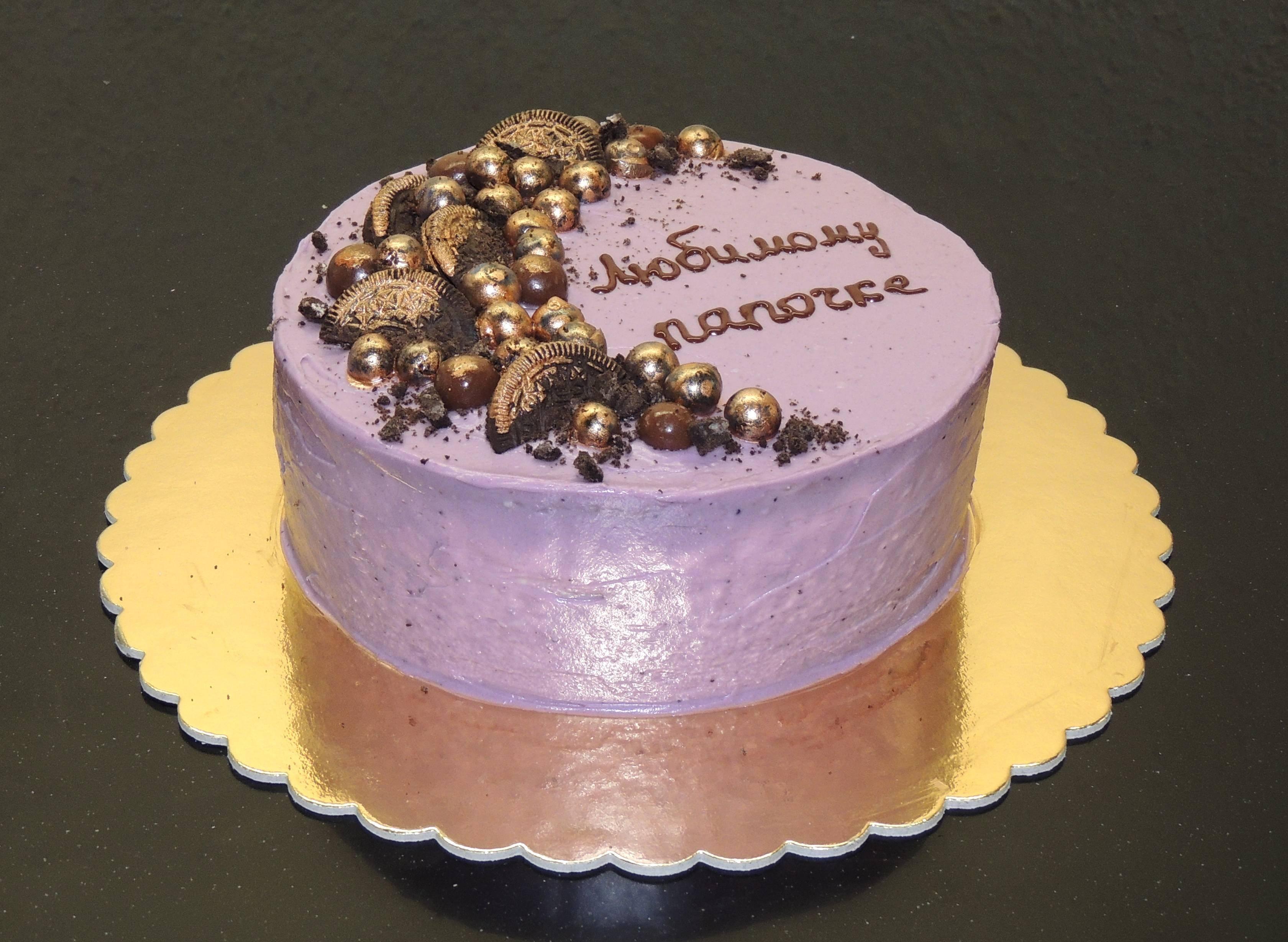 торт для папы на день рождения фото