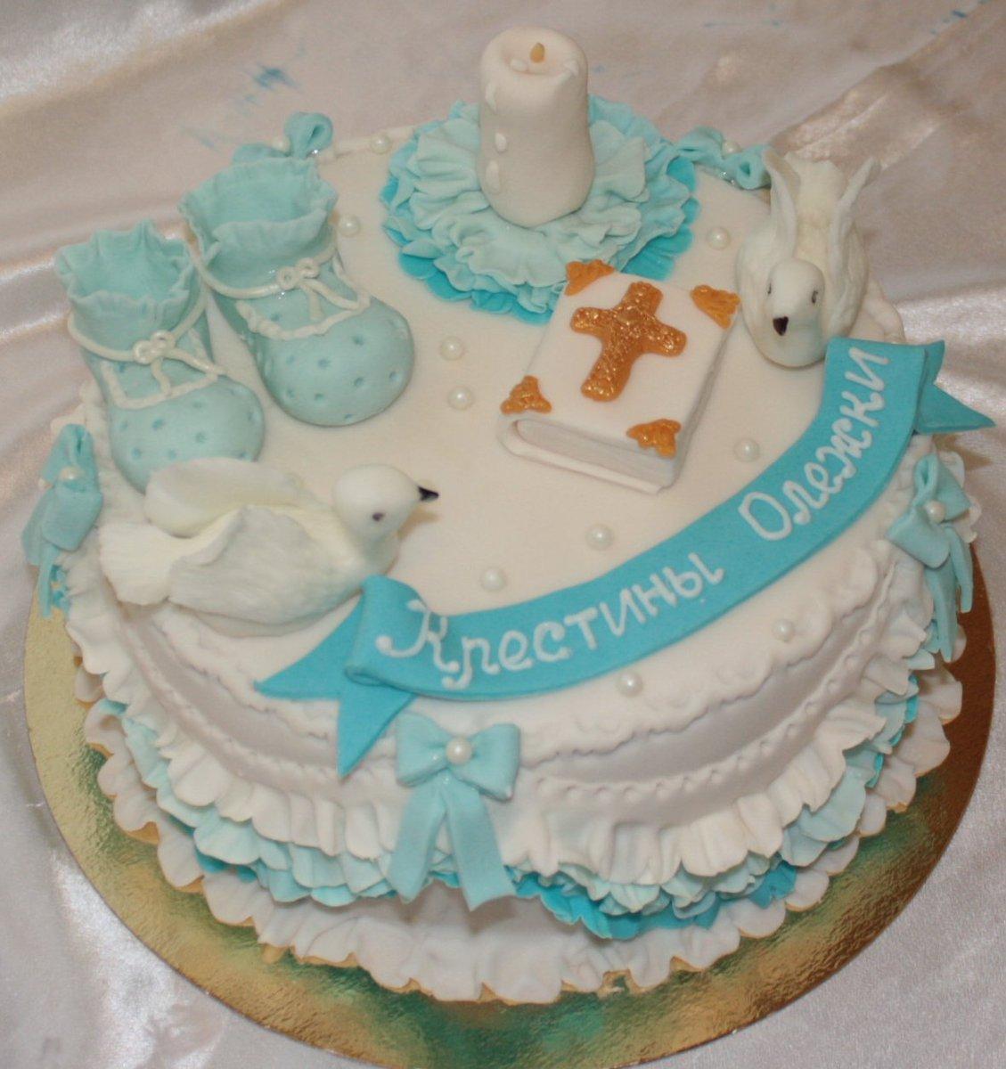как оформить торт на крестины фото иногда