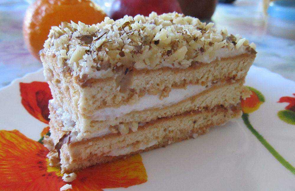 современном простой рецепт торта со сметаной фото пошагово класс