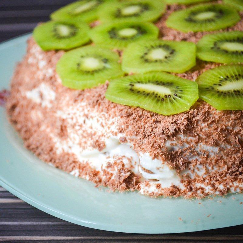 сметанный торт без выпечки рецепт с фото подрочила пациенту