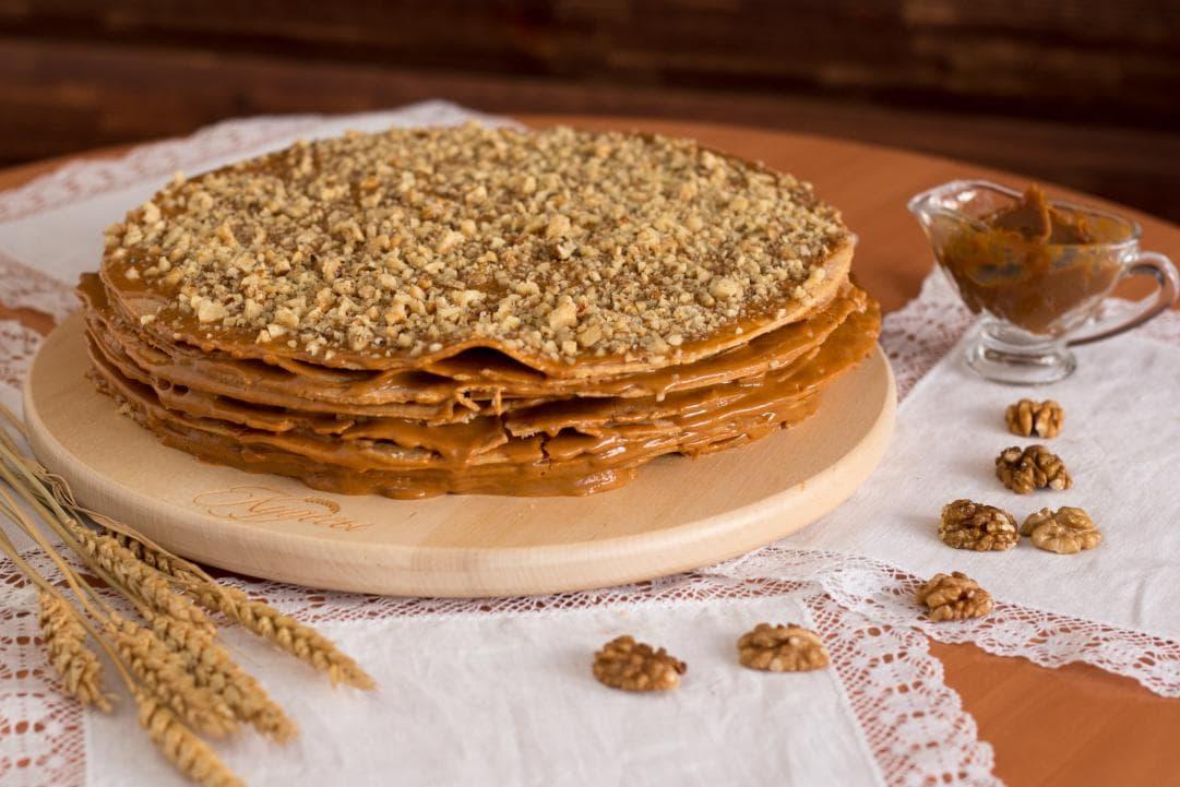 Торт наполеон степка растрепка рецепт с фото