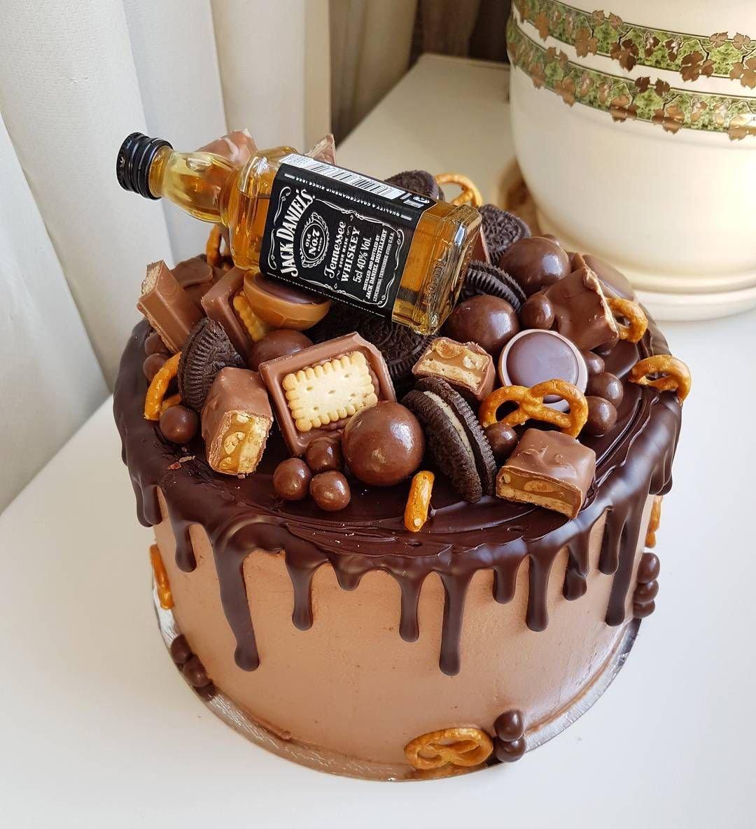 торт с днем рождения для мужчины фото прикрепляли