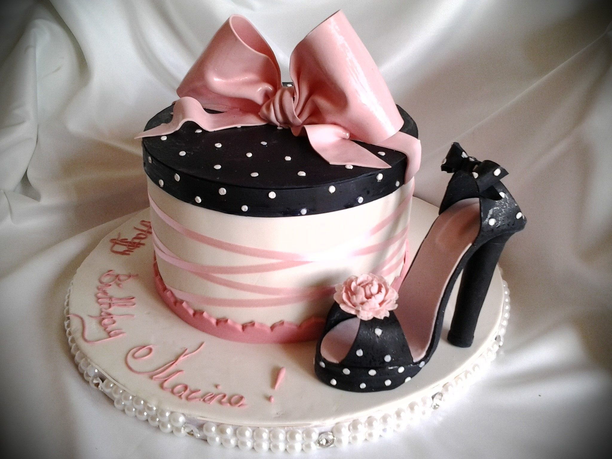 Картинки день рождения для девушек гламурные