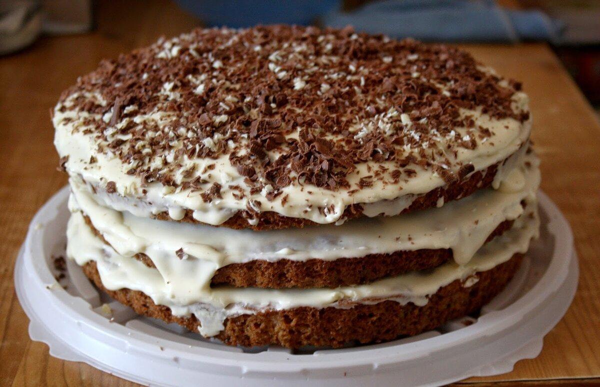 рецепт тортов больших размеров пошаговый с фото этом