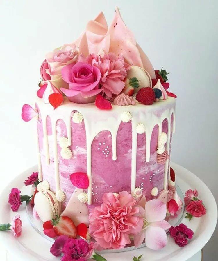 Красивые тортики на день рождения