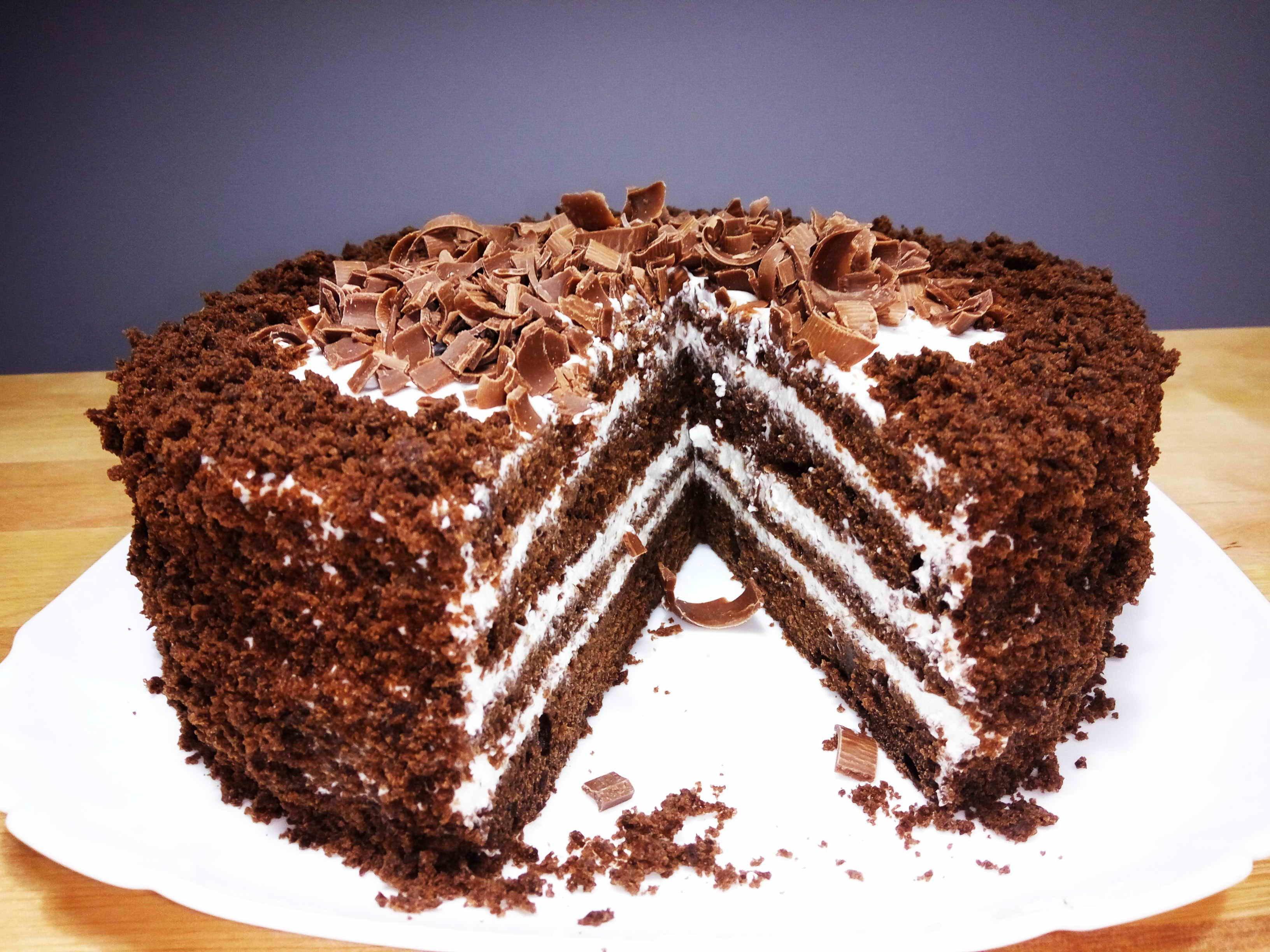 рецепты тортов поэтапно фото бородиной появился