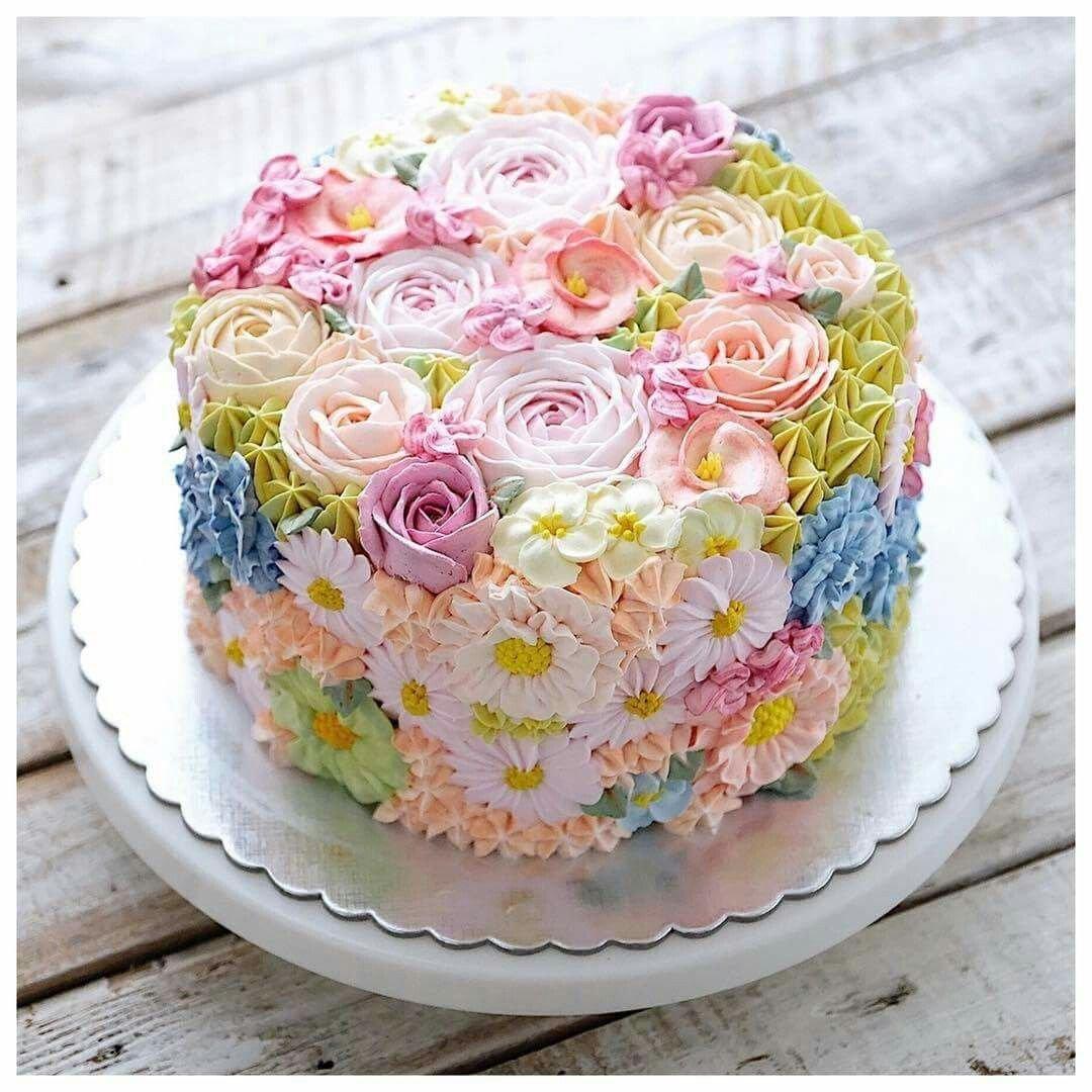 так торты масляные на день рождения фото если весь сезон