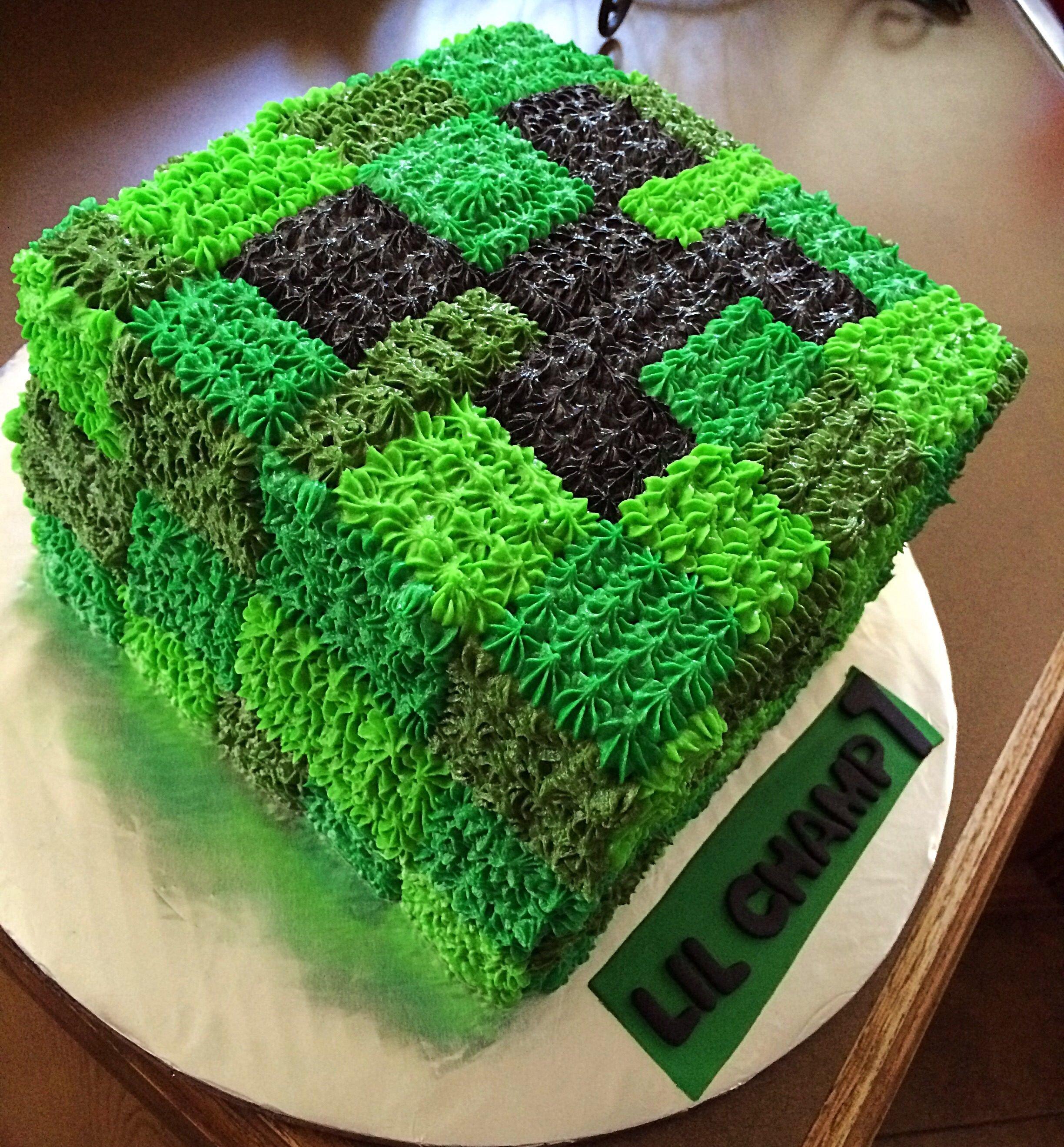 торт в майнкрафт #4